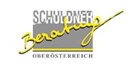 Bildlink mit externer Weiterleitung zur Website der Schuldnerberatung Oberösterreich. Öffnet in einem neuen Tab.