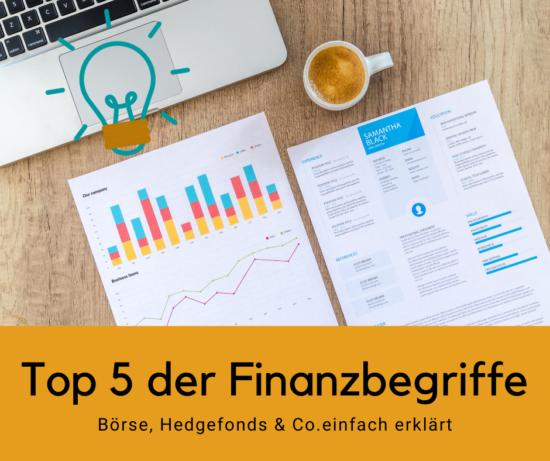 5 Finanzbegriffe