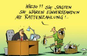 Rat(t)enzahlung Pammesberger