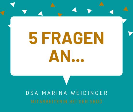 5 Fragen an... Marina Weidinger