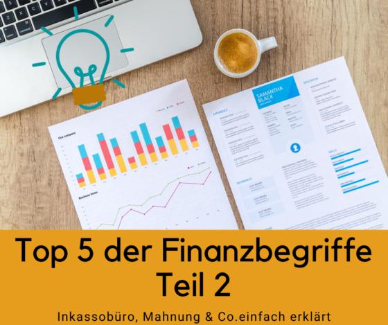 5 Finanzbegriffe einfach erklärt